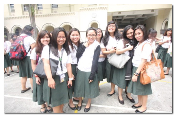 Students from Miriam College