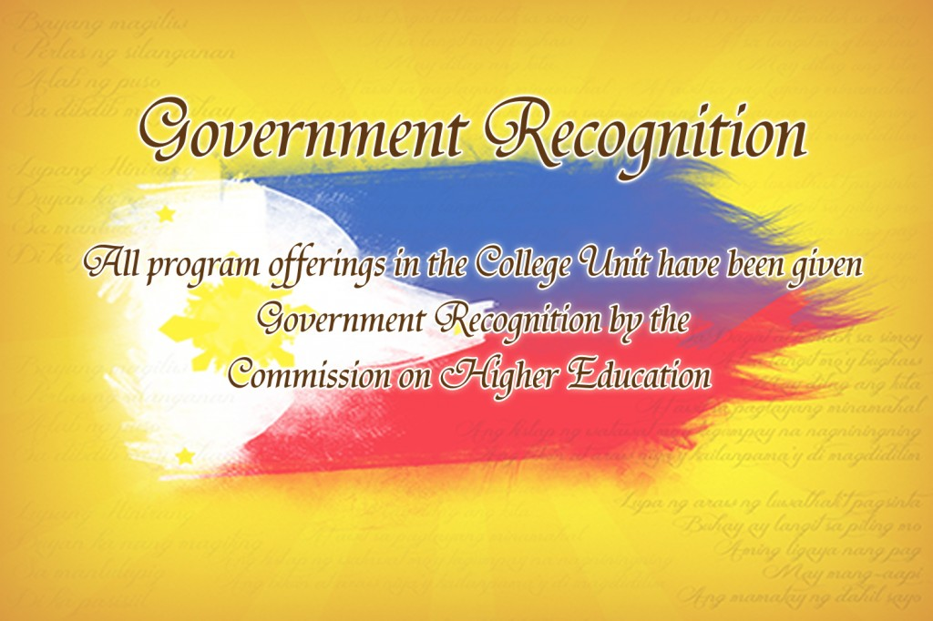 Gov't Recognition copy