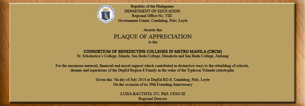 Deped Plaque of Appreciation copy