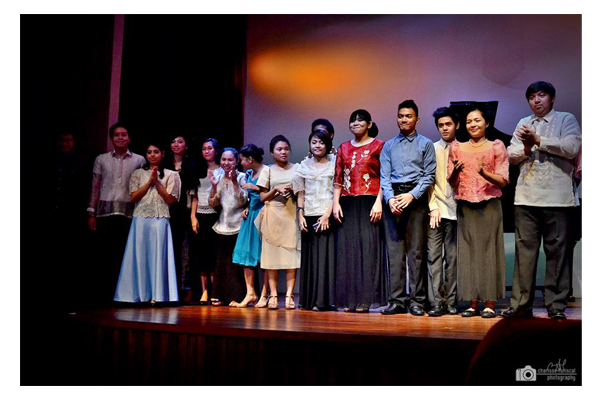 College Filipino Recital 22