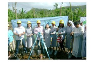 Groundbreaking of San Benito Resettlement 9