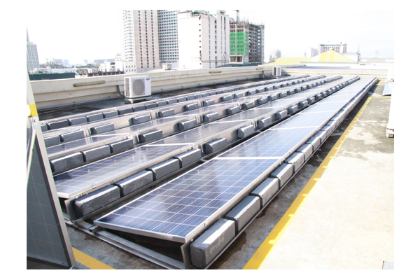 Inauguration of Solar Plates at SSC 15