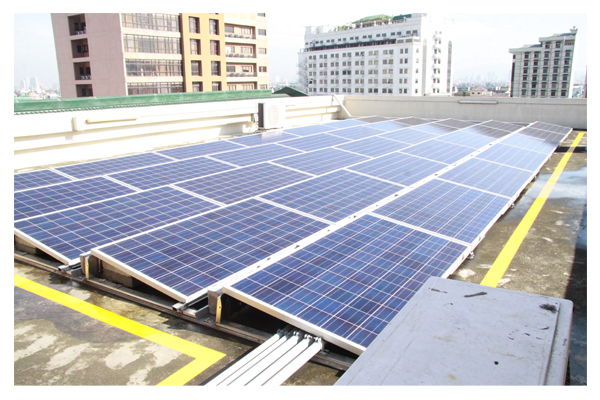 Inauguration of Solar Plates at SSC 19