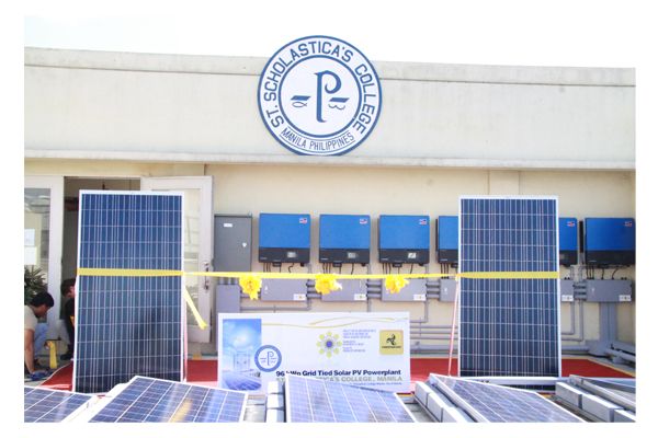 Inauguration of Solar Plates at SSC 22