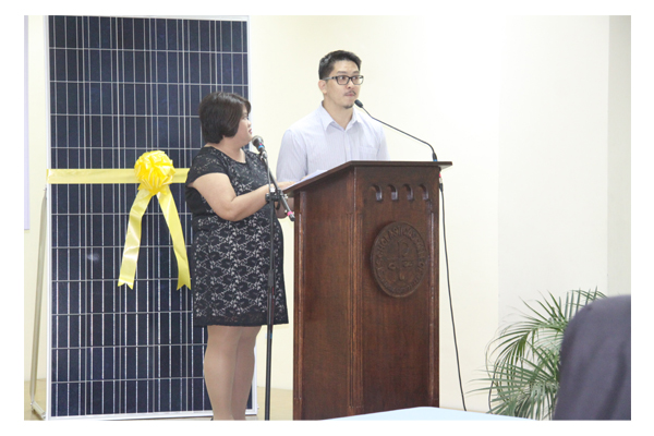 Inauguration of Solar Plates at SSC 33