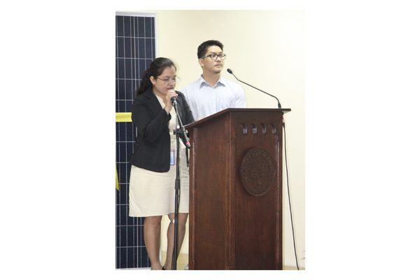 Inauguration of Solar Plates at SSC 34