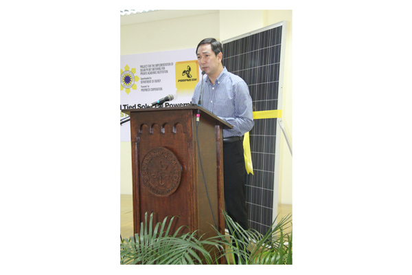 Inauguration of Solar Plates at SSC 39
