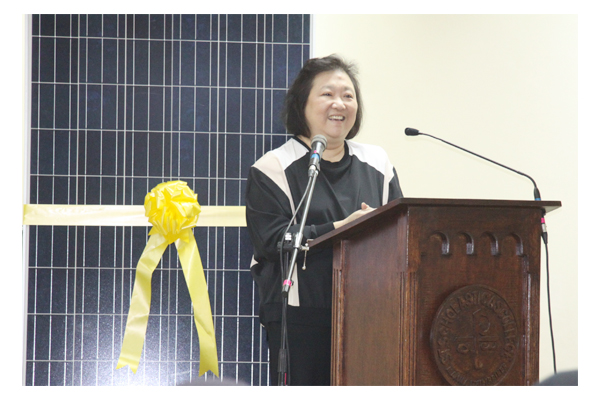 Inauguration of Solar Plates at SSC 42