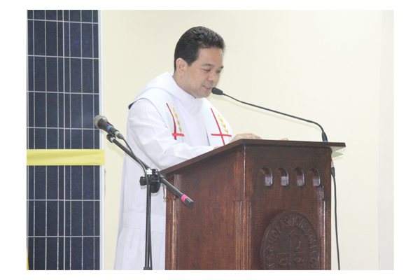 Inauguration of Solar Plates at SSC 43