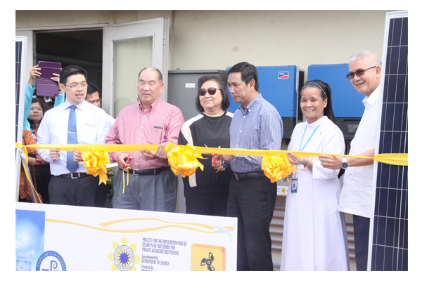 Inauguration of Solar Plates at SSC 45