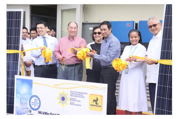 Inauguration of Solar Plates at SSC 46