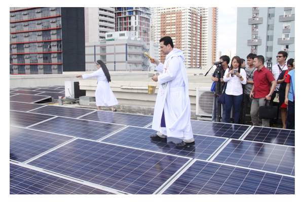 Inauguration of Solar Plates at SSC 49