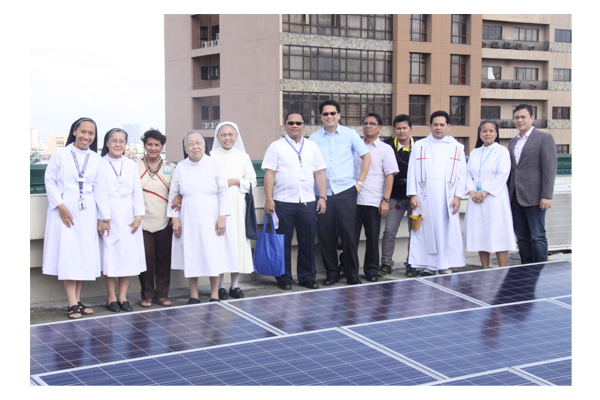 Inauguration of Solar Plates at SSC 51
