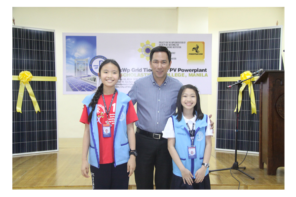 Inauguration of Solar Plates at SSC 61