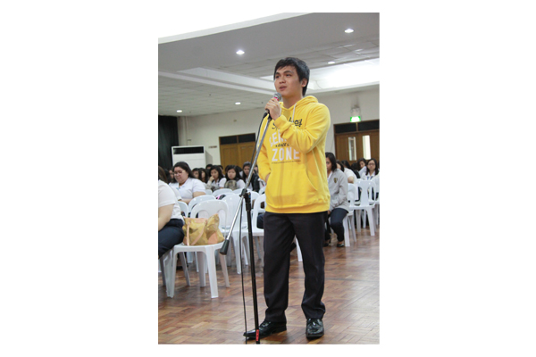 Re-Orientation and Tapatan 2014 15