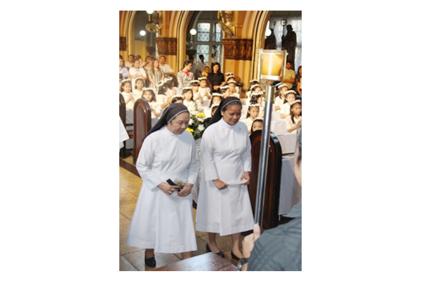 College Of Saint Scholastica >> 1st Holy Communion 2015 | St Scholastica's College