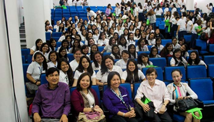 SSC Faculty with Miriam College faculty and students