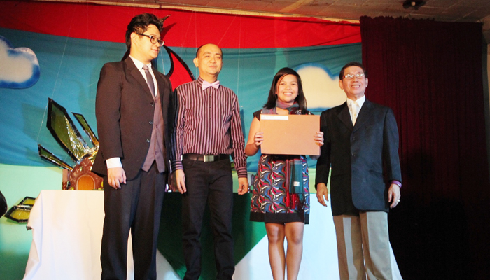 Best in Creative Writing Workshop- Marla Frange of 6-St. Berno