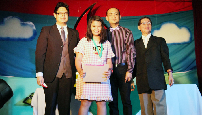 1st Runner-up, News Writing in English and Best in Theater Workshop- Jessica Rivera of 6-St. Berno