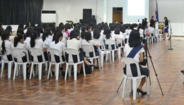Psychology and Counseling department students attend the annual general assembly