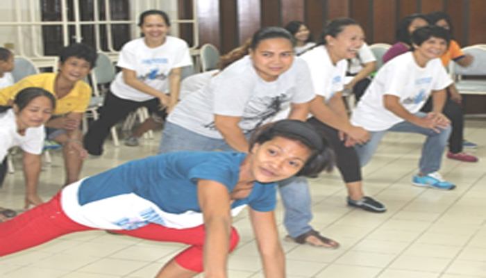 The various activities conducted during the Nutrition Month