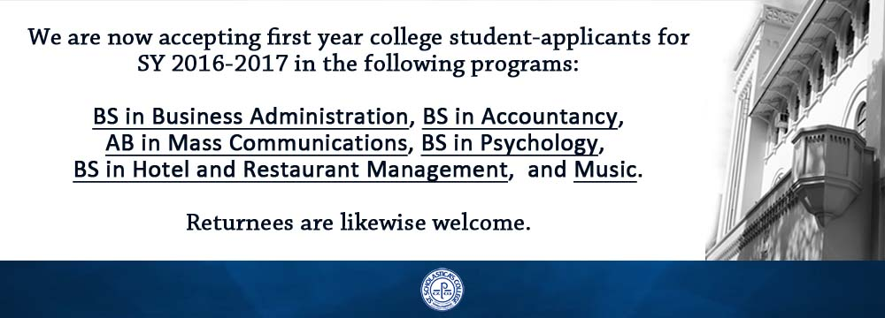 VPAA_announcement for college