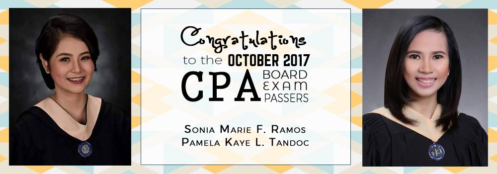 OCT 2017 CPA Board Passers