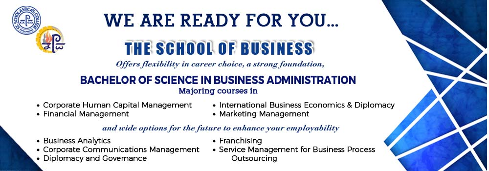school of business banner