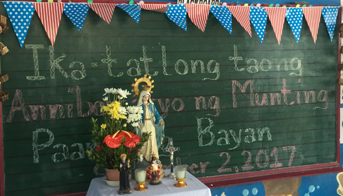 September 2, 2017. 3rd Anniversary of the Play and Learn Children's Center in Taguig