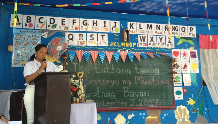 September 2, 2017, Taguig. 3rd Anniversary of the Play and Learn Children's Center