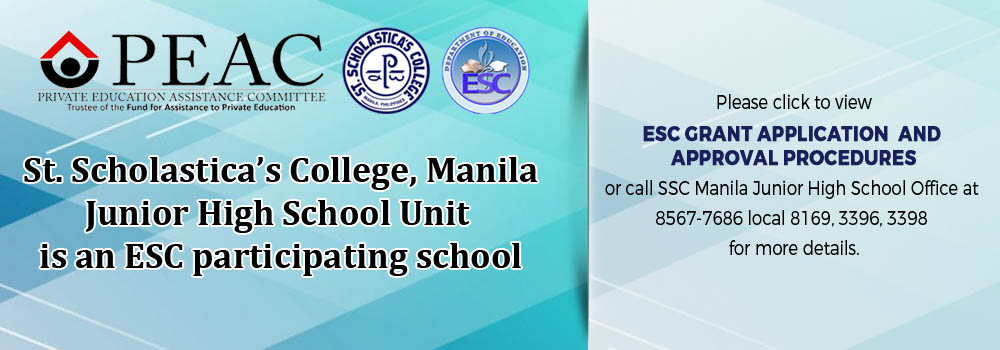 PEAC SSC ESC ads