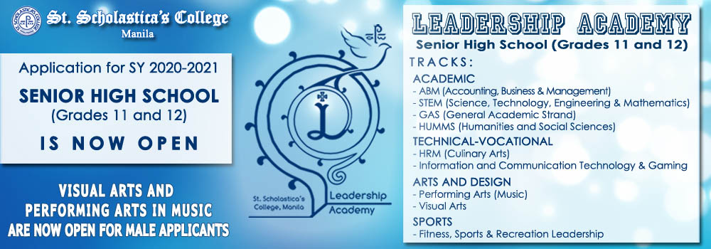 Leadership Academy Tracks & Info 2020