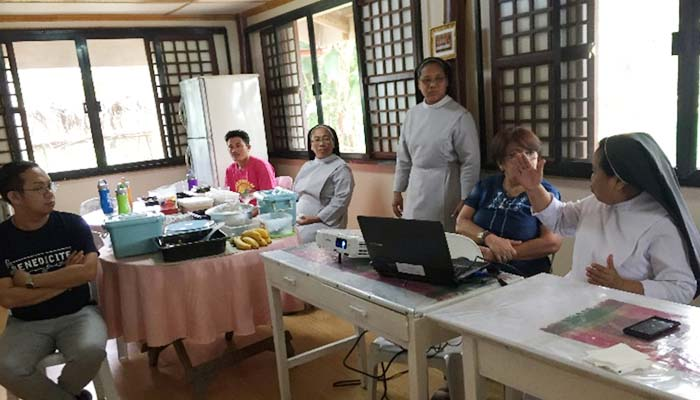 June 20, 2018, meeting with Sr. Joanne on the immersion program