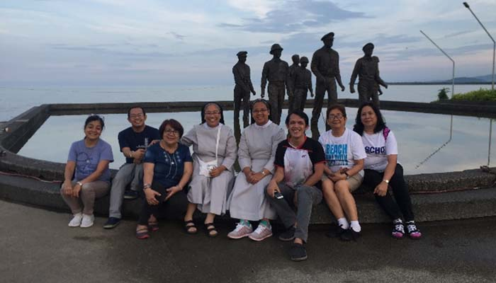 June 20, 2018, visit to monument of General MacArthur landing in Leyte