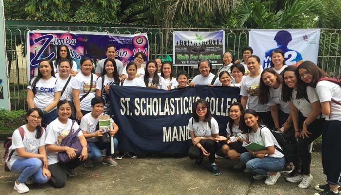 September 1, 2018, SSC Community group shot after the Walk for Creation