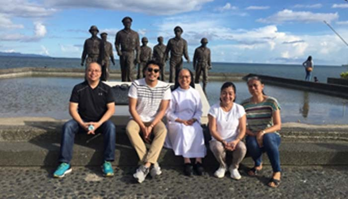 Oct. 21, 2018 Visit to the MacArthur landing in Palo, Leyte