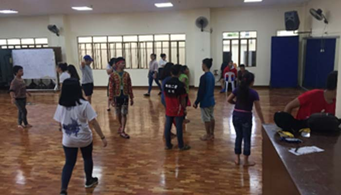 October 15-16 , 2018 – Dance Workshop with Lumad studunsts and Danz Edge