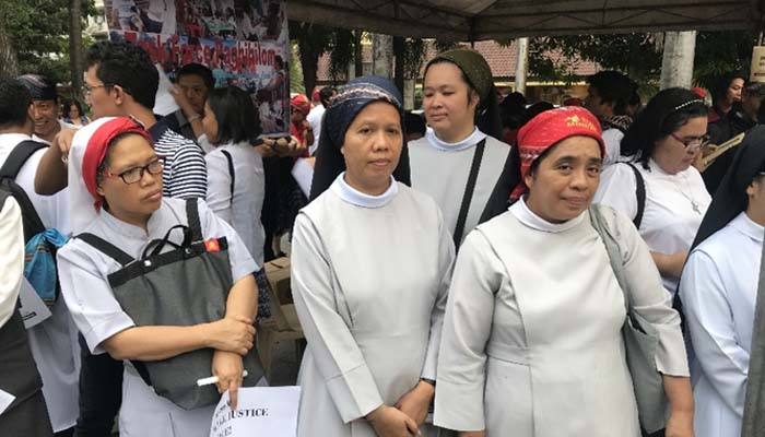 Jan. 25, 2019 Rally by the religious groups calling for peace