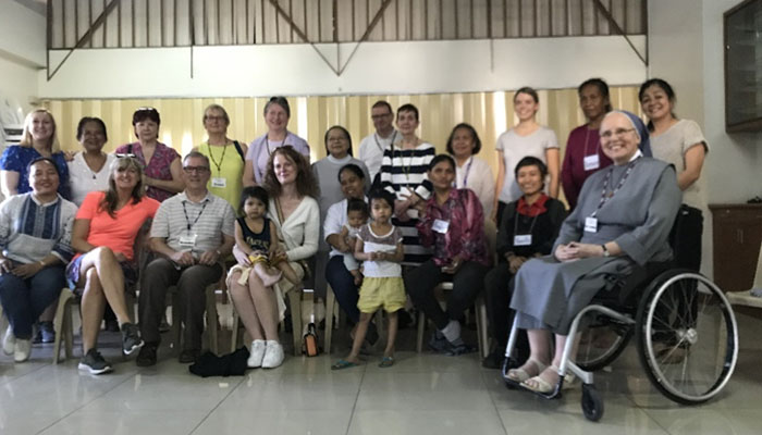 February 16-22, 2019 The EDUCAREM participants in Tuluyan San Benito