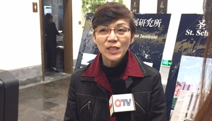 Interview with QTV (Quingdao TV)