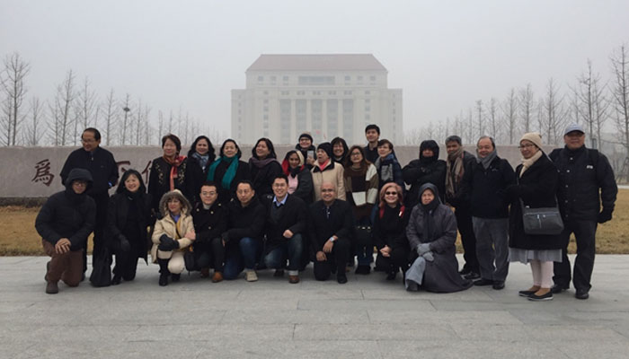 Visit to different Chinese universities