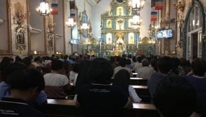 GS Faculty Joins Mass in Support of the Church 01